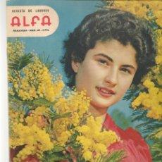 Coleccionismo de Revistas y Periódicos: REVISTA DE LABORES ALFA. Nº 63. DORIS DAY. PRIMAVERA, 1960. (P/B60). Lote 277267568