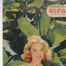 Coleccionismo de Revistas y Periódicos: REVISTA DE LABORES ALFA. Nº 67. DORIS DAY / BODA DE FABIOLA. PRIMAVERA, 1961. (P/B60). Lote 277269613