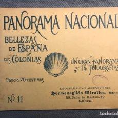 Coleccionismo de Revistas y Periódicos: PANORAMA NACIONAL BELLEZAS DE ESPAÑA Y SUS COLONIAS, NO.11, H. MIRALLES, BARCELONA (H.1890?). Lote 277306248