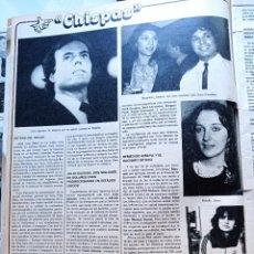 Coleccionismo de Revistas y Periódicos: MARTA GARCIA ROSALIA DANS JULIO IGLESIAS REMEDIOS AMAYA. Lote 277477288