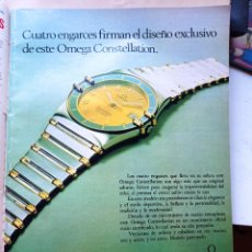 Coleccionismo de Revistas y Periódicos: ANUNCIO OMEGA. Lote 277477503