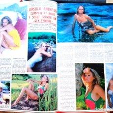 Coleccionismo de Revistas y Periódicos: URSULA ANDRESS. Lote 277478128