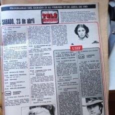 Coleccionismo de Revistas y Periódicos: REMEDIOS AMAYA JAMES STEWART CLINT EASTWOOD. Lote 277478253