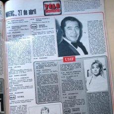 Coleccionismo de Revistas y Periódicos: TOSHIRO MIFUNE CARMEN DE LA MAZA ARCONADA. Lote 277478453