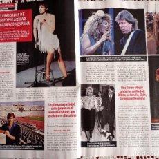Coleccionismo de Revistas y Periódicos: NADIA COMANECI LIZA MINELLI TINA TURNER ALICIA ALONSO RUDOLF NUREYEV. Lote 277511493