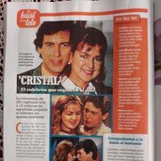 Coleccionismo de Revistas y Periódicos: CRISTAL CARLOS MATA JEANETTE RODRIGUEZ. Lote 277511508