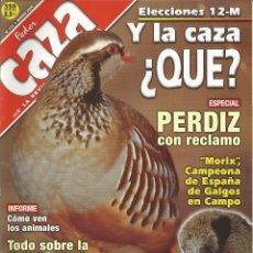 Coleccionismo de Revistas y Periódicos: REVISTA FEDER CAZA Nº 171 (MARZO 2000). Lote 277531628
