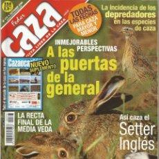 Coleccionismo de Revistas y Periódicos: REVISTA FEDER CAZA Nº 177 (SEPTIEMBRE 2000). Lote 277532053