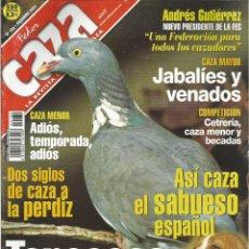Coleccionismo de Revistas y Periódicos: REVISTA FEDER CAZA Nº 182 (FEBRERO 2001). Lote 277532143