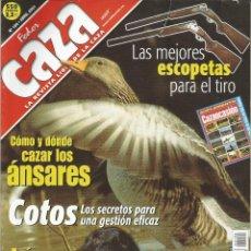 Coleccionismo de Revistas y Periódicos: REVISTA FEDER CAZA Nº 184 (ABRIL 2001). Lote 277532268