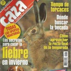 Coleccionismo de Revistas y Periódicos: REVISTA FEDER CAZA Nº 181 (ENERO 2001). Lote 277532323
