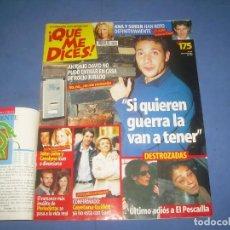 Coleccionismo de Revistas y Periódicos: QUÉ ME DICES Nº 140, NOVIEMBRE 1999. REVISTA CORAZÓN. ANTONIO DAVID ROCIITO ROCIO JURADO. Lote 277543153