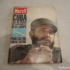 Coleccionismo de Revistas y Periódicos: REVISTA PARIS MATCH Nº 629 CUBA 1961. Lote 277549793