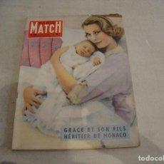 Coleccionismo de Revistas y Periódicos: REVISTA PARIS MATCH Nº 468 DE 1958. Lote 277549833