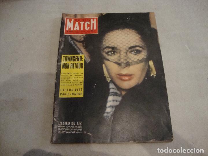 REVISTA PARIS MATCH Nº 469 DE 1958 (Coleccionismo - Revistas y Periódicos Modernos (a partir de 1.940) - Otros)