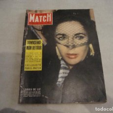 Coleccionismo de Revistas y Periódicos: REVISTA PARIS MATCH Nº 469 DE 1958. Lote 277549848