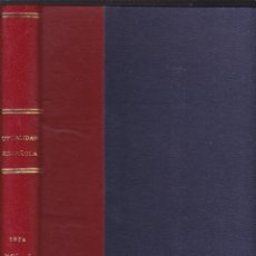 Coleccionismo de Revistas y Periódicos: LA ACTUALIDAD ESPAÑOLA - 1974 - PRIMER SEMESTRE EN UN VOLUMEN. Lote 277606818