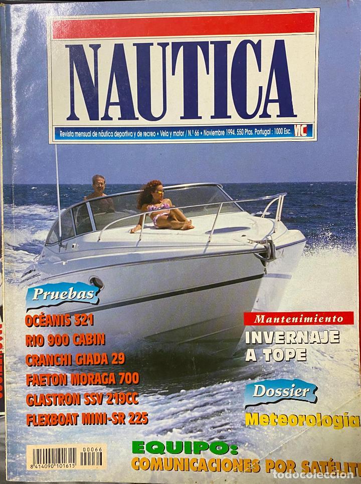REVISTA NAUTICA. N.º 66. NOVIEMBRE, 1994. (Coleccionismo - Revistas y Periódicos Modernos (a partir de 1.940) - Otros)