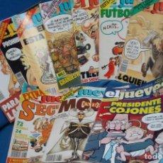 Coleccionismo de Revistas y Periódicos: REVISTA EL JUEVES - LOTE DE 10 UNIDADES. Lote 277651253