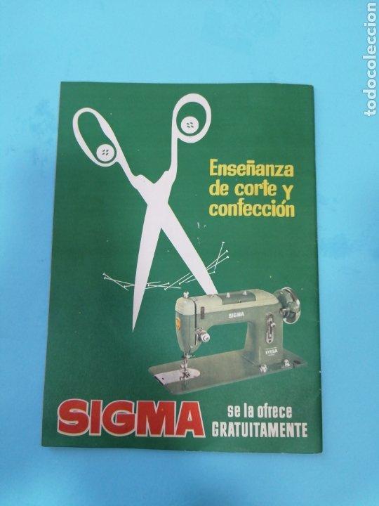 Coleccionismo de Revistas y Periódicos: Revista Sigma n°26 0toño 1962 Con Suplemento de Bordados - Foto 2 - 277683068