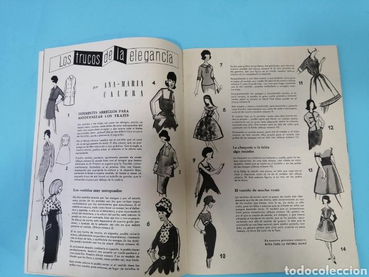 Coleccionismo de Revistas y Periódicos: Revista Sigma n°26 0toño 1962 Con Suplemento de Bordados - Foto 3 - 277683068