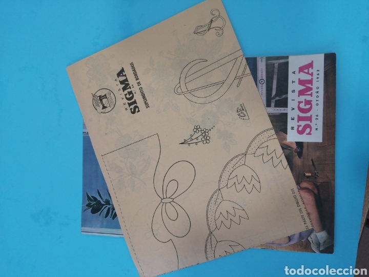 Coleccionismo de Revistas y Periódicos: Revista Sigma n°26 0toño 1962 Con Suplemento de Bordados - Foto 4 - 277683068