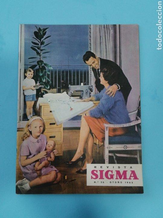REVISTA SIGMA N°26 0TOÑO 1962 CON SUPLEMENTO DE BORDADOS (Coleccionismo - Revistas y Periódicos Antiguos (hasta 1.939))