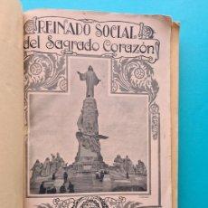Coleccionismo de Revistas y Periódicos: REVISTA REINADO SOCIAL DEL SAGRADO CORAZON - AÑO 1932 COMPLETO - Nº 131 ENERO A 143 DICIEMBRE - FOTO. Lote 277685448