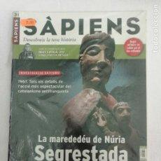 Coleccionismo de Revistas y Periódicos: SÀPIENS Nº 31: LA MAREDEDÉU DE NÚRIA SEGRESTADA, LA VERITABLE HISTÒRIA DEL COMTE DRÀCULA.. Lote 277687323