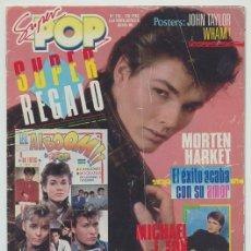 Coleccionismo de Revistas y Periódicos: SUPER POP - Nº 210 - 1986 - MORTEN HARKET, WHAM!, TOCATA, DEN HARROW, MADONNA, PET SHOP BOYS. Lote 277731063