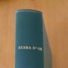 Coleccionismo de Revistas y Periódicos: REVISTA SERRA D'OR - TOMO ENCUADERNADO AÑO 1970. Lote 277829808