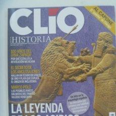 Coleccionismo de Revistas y Periódicos: REVISTA DE HISTORIA CLIO, Nº 108: ASIRIOS, AL CAPONE, LOS 300 ESPARTA, ANGLOSAJONES, ETC. Lote 278192208
