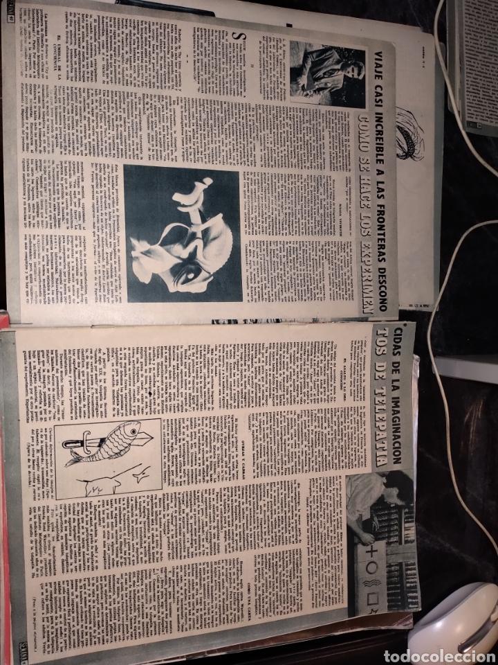 2 HOJAS RECORTES ARTÍCULO COMO SE HACE LOS EXPERIMENTOS DE TELEPATÍA. REVISTA SEMANA 1171 DE 1962 (Coleccionismo - Revistas y Periódicos Modernos (a partir de 1.940) - Otros)