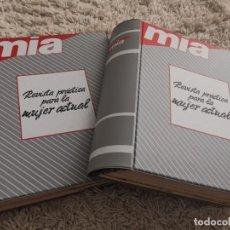 Coleccionismo de Revistas y Periódicos: ÁLBUMS REVISTAS MÍA. Lote 278333308