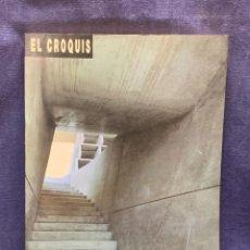 Coleccionismo de Revistas y Periódicos: REVISTA EL CROQUIS Nº DOBLE 49/50 1991 ARQUITECTO ENRIC MIRALLES CARME PINOS ARQUITECTURA 34X24CMS. Lote 278403678