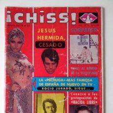 Collectionnisme de Revues et Journaux: REVISTA ¡CHISS! AÑO 1976 Nº 14 MICHAEL DOUGLAS JESUS HERMIDA POSTER DE LYNN ENDERSSON. Lote 278428973