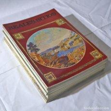 Coleccionismo de Revistas y Periódicos: 12 REVISTAS REALES SITIOS, AÑOS 70. Lote 278519828