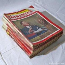 Coleccionismo de Revistas y Periódicos: 35 REVISTAS NEWSWEEK, AÑOS 40-50. Lote 278520033