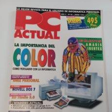 Coleccionismo de Revistas y Periódicos: REVISTA DE INFORMÁTICA PROFESIONAL PC ACTUAL N ° 49 ENERO 1994 VNU PUBLICACIONES. Lote 278574003