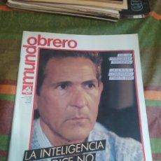 Coleccionismo de Revistas y Periódicos: MUNDO OBRERO AÑO 1986 N. 376. Lote 278693428