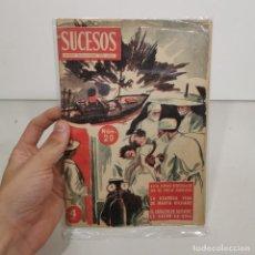 Coleccionismo de Revistas y Periódicos: ANTIGUA REVISTA SUCESOS - NÚM. 20 - CRONICA SENSACIONAL DEL MES / 14.139. Lote 278877298