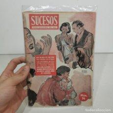 Coleccionismo de Revistas y Periódicos: ANTIGUA REVISTA SUCESOS - NÚM. 14 - CRONICA SENSACIONAL DEL MES / 14.140. Lote 278877323