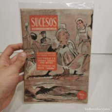 Coleccionismo de Revistas y Periódicos: ANTIGUA REVISTA SUCESOS - NÚM. 12 - CRONICA SENSACIONAL DEL MES / 14.143. Lote 278877428