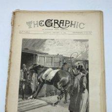 Coleccionismo de Revistas y Periódicos: THE GRAPHIC. AN ILLUSTRATED WEEKLY NEWSPAPER. Nº 1260. 20 DE ENERO, 1894. VER. Lote 278879133