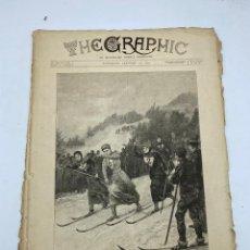 Coleccionismo de Revistas y Periódicos: THE GRAPHIC. AN ILLUSTRATED WEEKLY NEWSPAPER. Nº 1261. 27 DE ENERO, 1894. VER. Lote 278879528