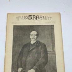 Coleccionismo de Revistas y Periódicos: THE GRAPHIC. AN ILLUSTRATED WEEKLY NEWSPAPER. Nº 1262. 3 DE FEBRERO, 1894. VER. Lote 278880138