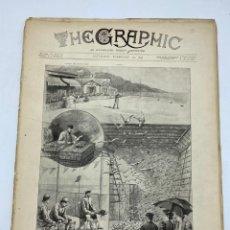 Coleccionismo de Revistas y Periódicos: THE GRAPHIC. AN ILLUSTRATED WEEKLY NEWSPAPER. Nº 1263. 10 DE FEBRERO, 1894. VER. Lote 278880358
