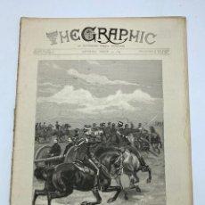 Coleccionismo de Revistas y Periódicos: THE GRAPHIC. AN ILLUSTRATED WEEKLY NEWSPAPER. Nº 1270. 31 DE MARZO, 1894. VER. Lote 278880683