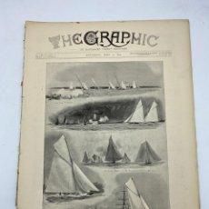 Coleccionismo de Revistas y Periódicos: THE GRAPHIC. AN ILLUSTRATED WEEKLY NEWSPAPER. Nº 1280. 8 DE JUNIO, 1894. VER. Lote 278883773