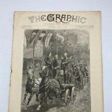 Coleccionismo de Revistas y Periódicos: THE GRAPHIC. AN ILLUSTRATED WEEKLY NEWSPAPER. Nº 1281. 16 DE JUNIO, 1894. VER. Lote 278884323